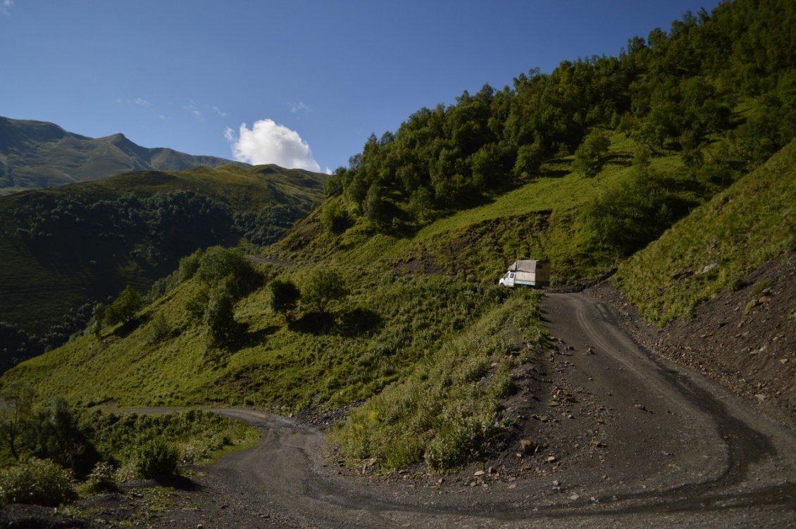 Дорога в Шатили