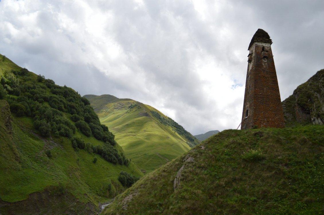 Башня в Шатили