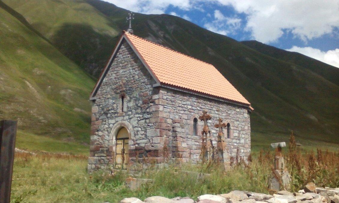 Миниатюрная церквушка