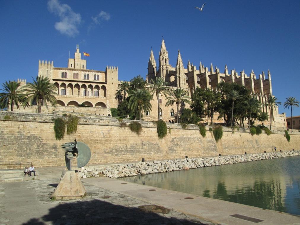 Дворец Альмудайна и Кафедральный собор Ла Сео