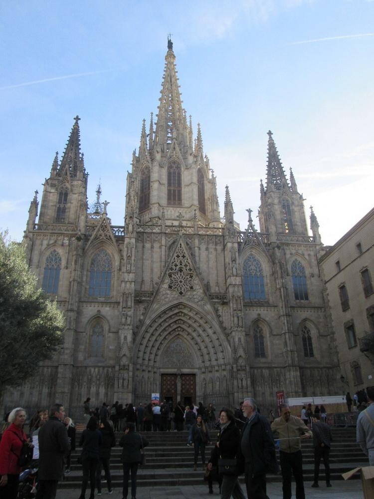 Готический квартал с кафедральным собором