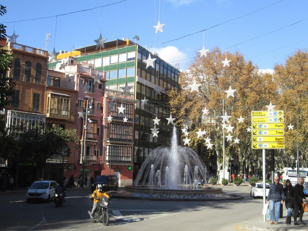 Новогодние украшения города