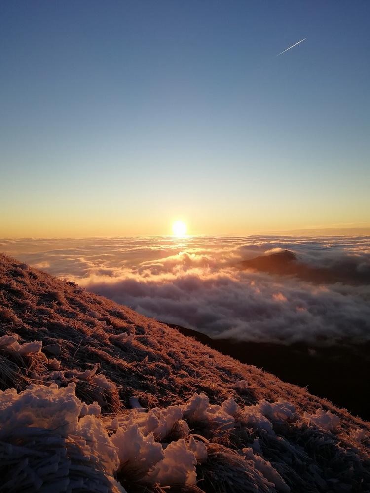 Рассвет с вершины Бештау
