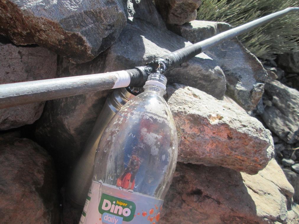 Труба с питьевой водой