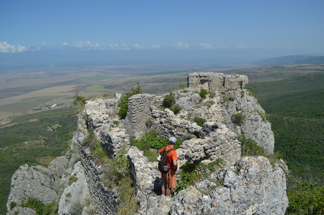 Вид с крепости Хорнабуджи