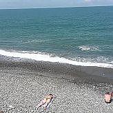 Кобулети - пляж и набережная