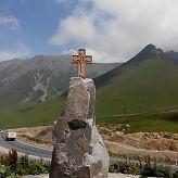 Дорога на Крестовом перевале