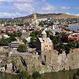 Старый Тбилиси со стороны