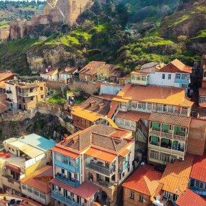 Старый Тбилиси и крепость Нарикала