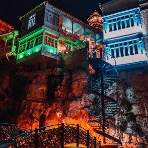 Подсветка в Старом Тбилиси