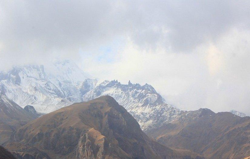 Вид на Казбеги