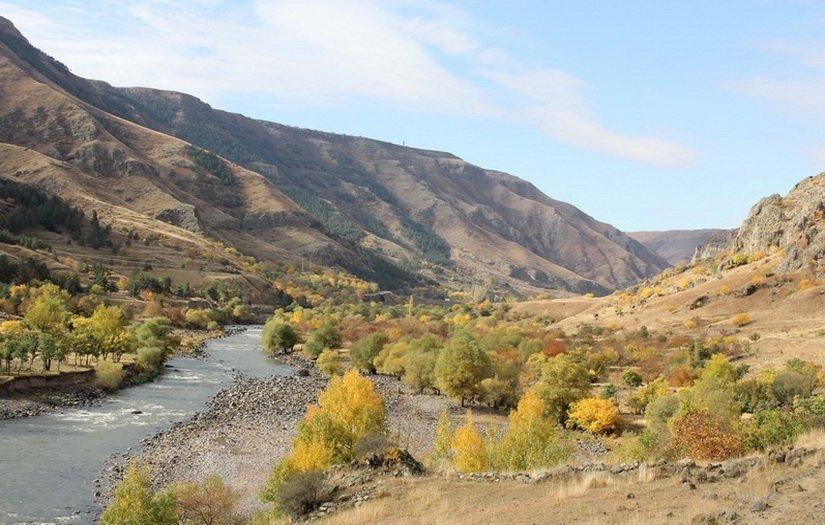 Красота осенней Грузии
