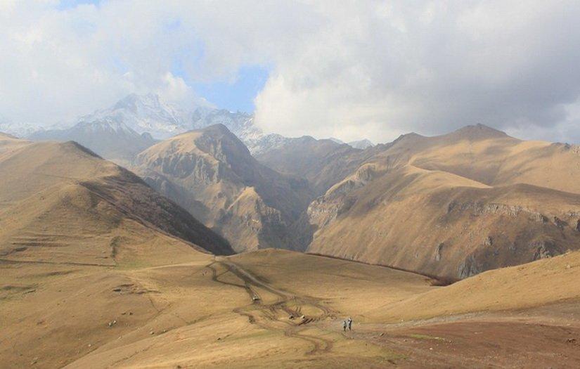 Фото горы Казбег