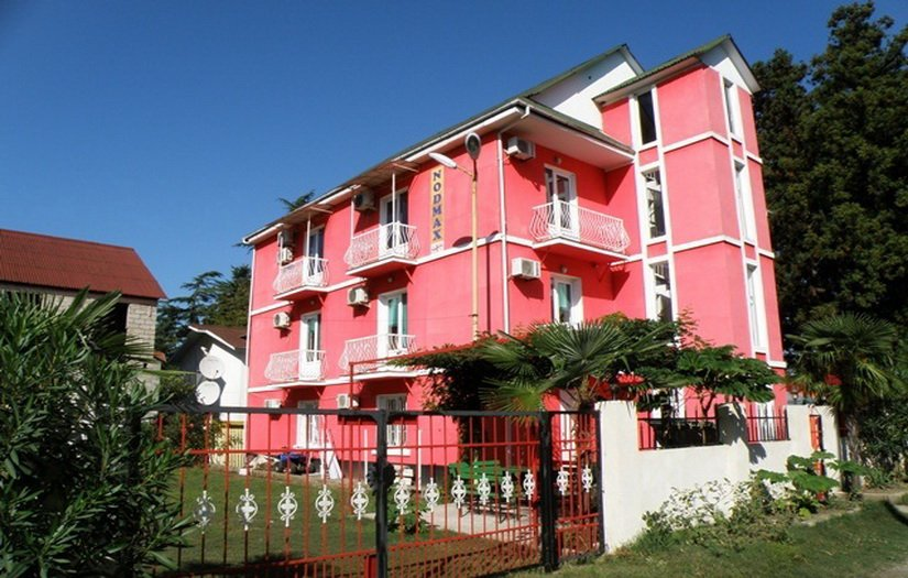Наша гостиница в Уреки