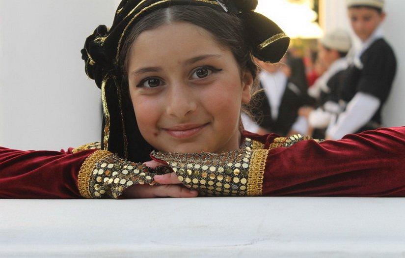 Красота молодой грузиночки