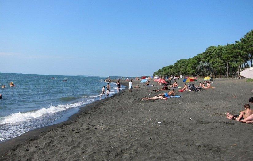 Пляж в Уреки