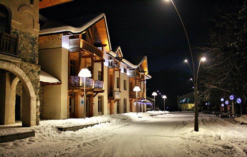 Наш отель в Местии
