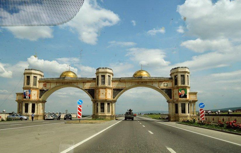 Граница Чечни
