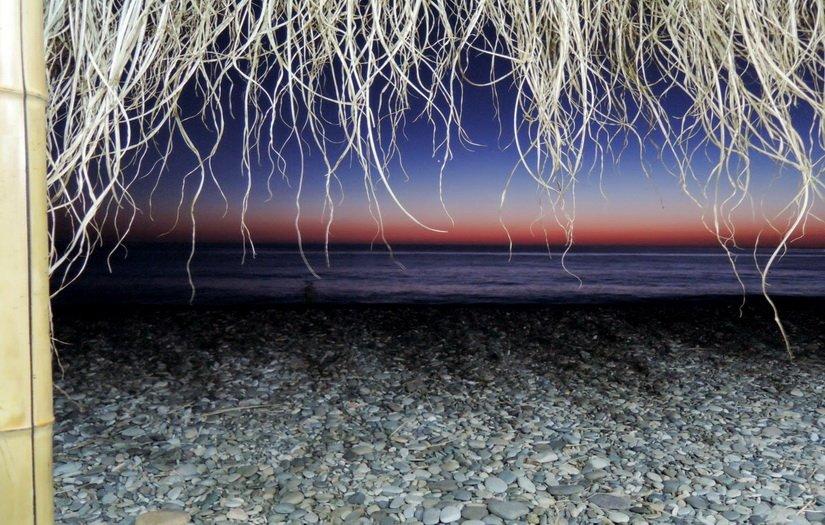 Закат над морем в Квариати