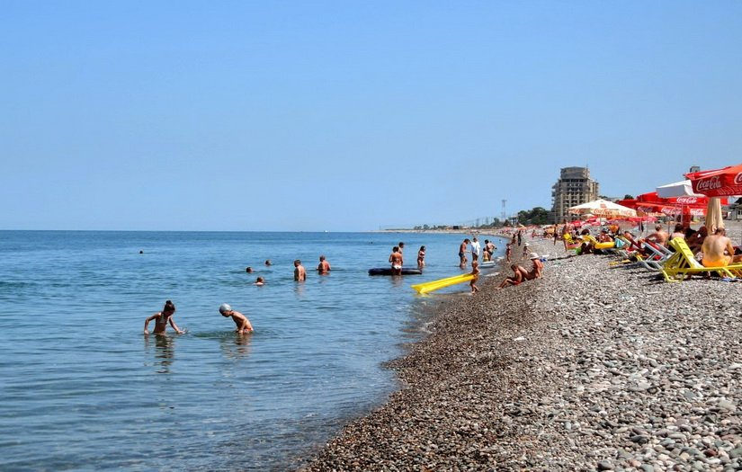 Море и пляж Квариати