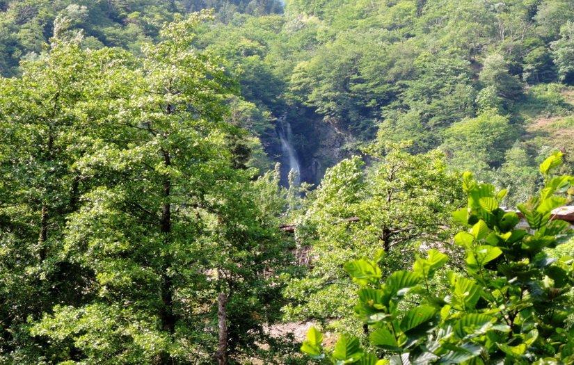 Водопад царицы Тамары