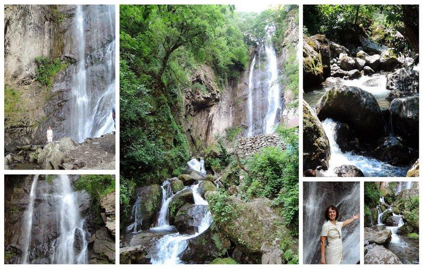 Фото водопада Махунцети