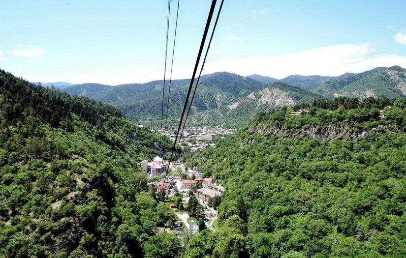 Фото Боржоми с высоты