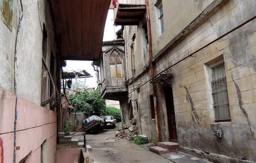 Не туристический Тбилиси