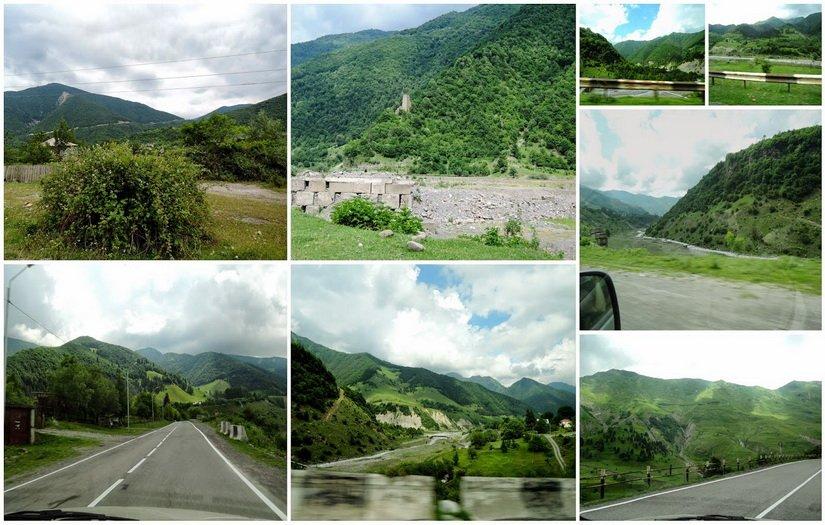 Фото гор Грузии