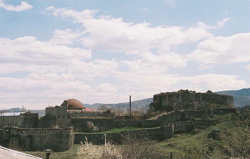 Крепость Рабат до реставрации и ремонта