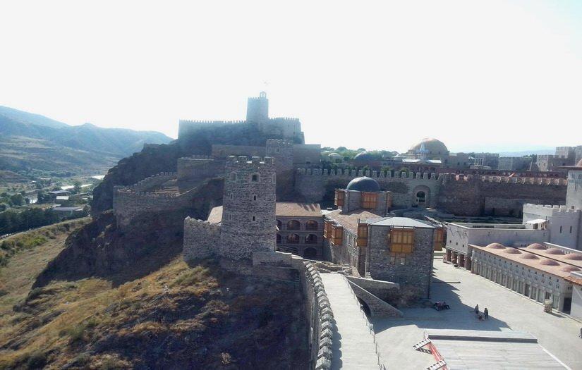 Верхняя часть замка