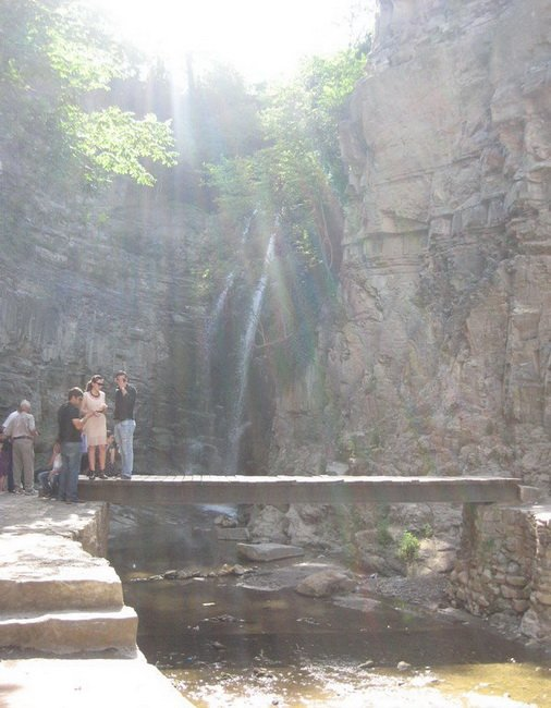 Тбилисский водопад