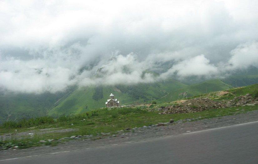 Храм под облаками