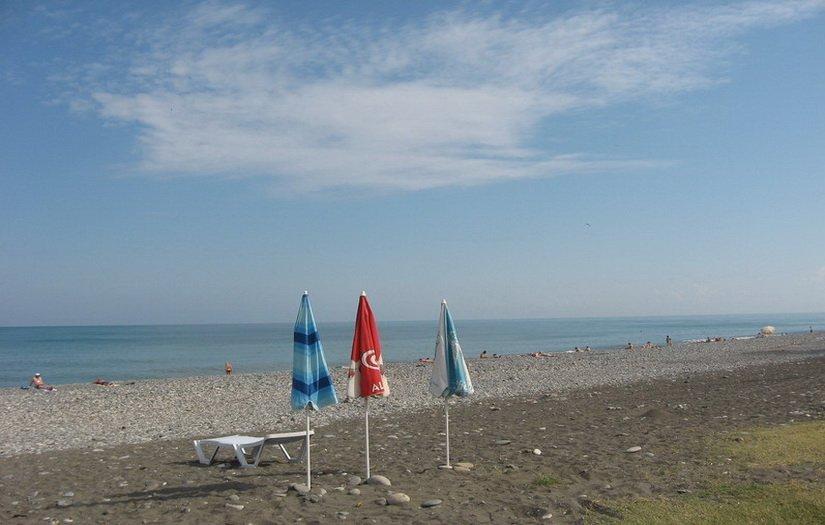 Батумский пляж