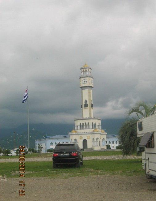Фонтан Чачи в виде башни