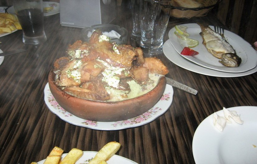 Цыпленок Чкмерули
