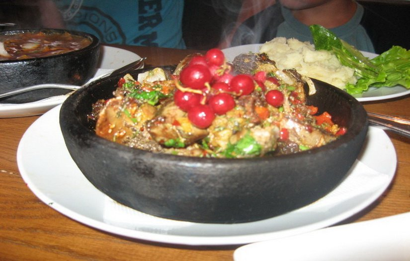 Грузинское блюдо