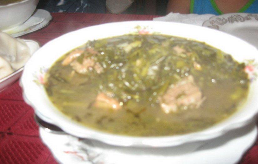 Национальный грузинский суп