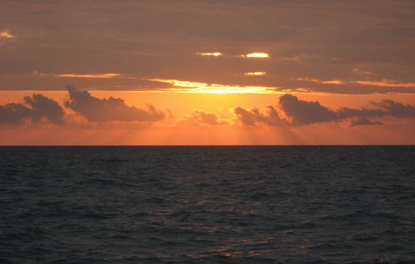 Закат в Кобулети