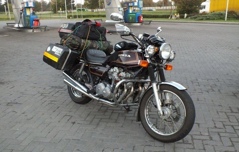Поездка на мотоцикле в Грузию