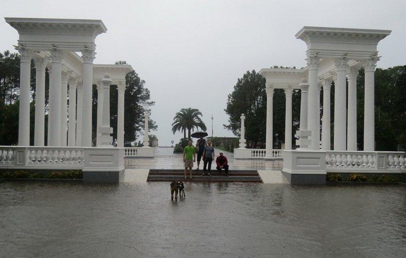 Батуми под дождём