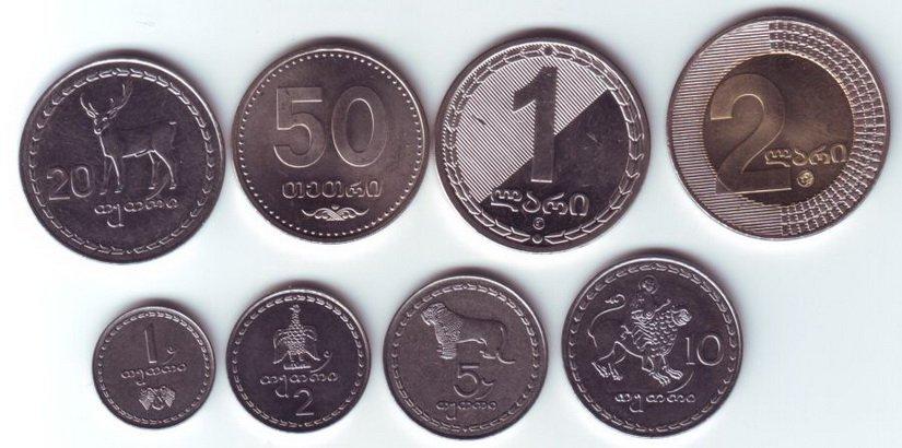 Деньги Грузии Курс лари к рублю с какими ехать сколько брать на неделю где лучше менять как снять с карты Сбербанка