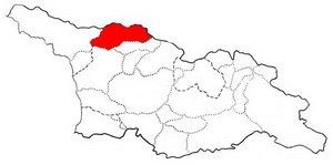 Карта Сванетии