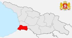 Карта Аджарии