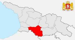 Карта Самцхе-Джавахети