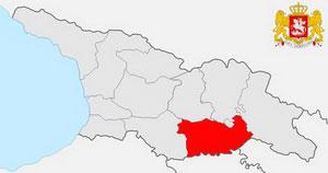 Карта Квемо-Картли