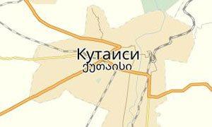 Карта Кутаиси