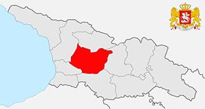 Карта Имеретии