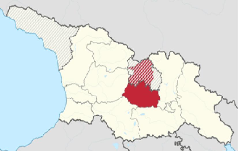 Карта Шида-Картли