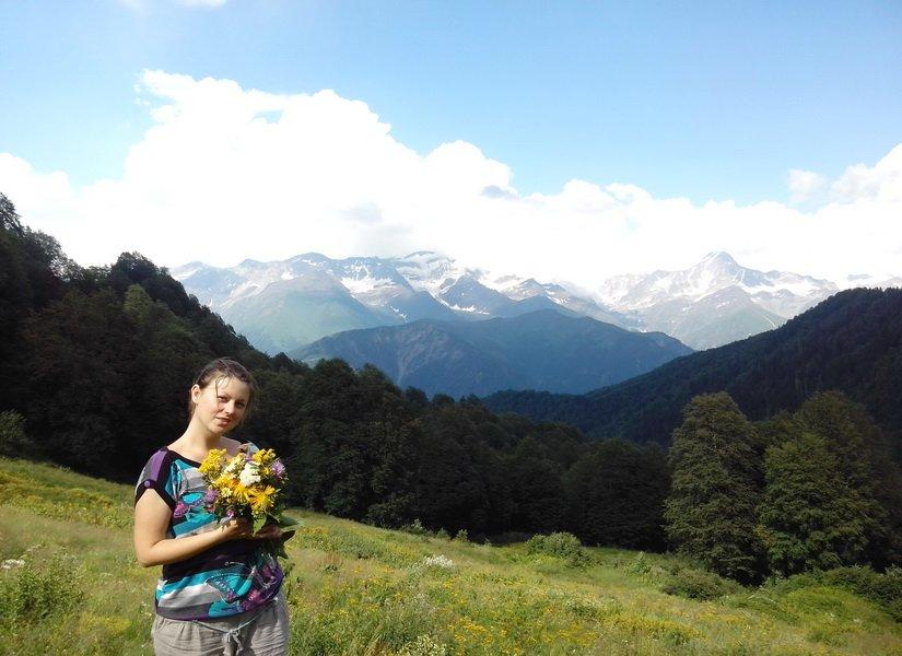 Цветы с вершины